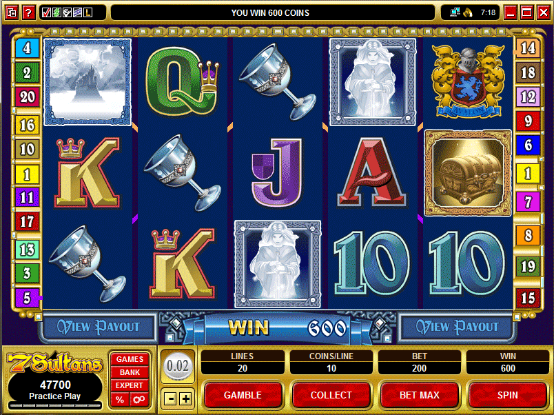 Awesome Pokie Game For Real Thrilling Fun With 7 Sultans