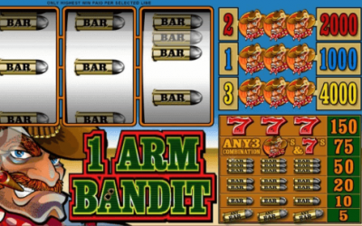 1 Arm Bandit Is Such An Amazing And Perfect Pokie For The Beginners